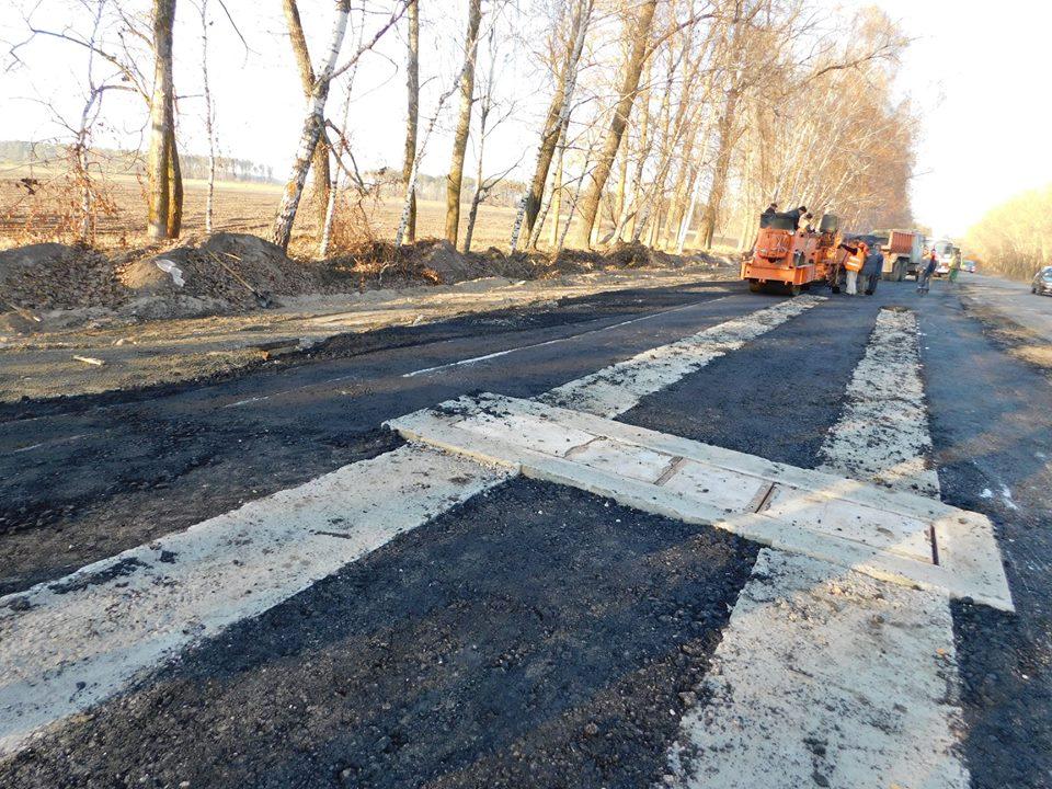 На Шосткинщине строят площадку для контроля высокогабаритного грузового транспорта