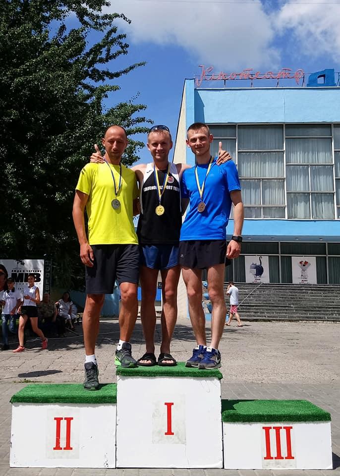 Сумские ходоки стали вторыми на домашнем чемпионате Украины