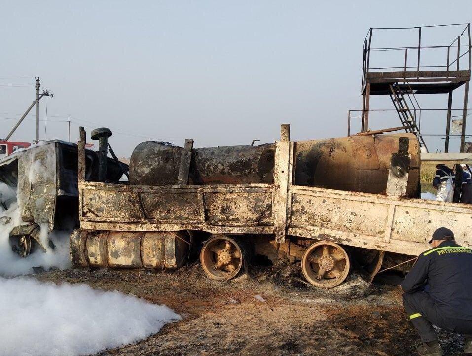 Жителя Сумщини, який влаштував пожежу на нефтескважине, взяли під варту