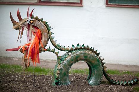Это дракон.