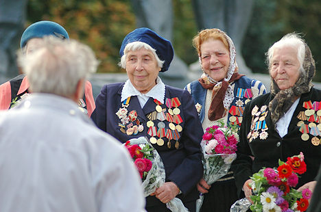 В Подольском районе Киева в 25 раз вспомнили о ветеранах