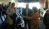 Сумскую журналистку толкнул секретарь горсовета Баранов (видео)