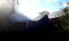 В Ахтырке две пожарки тушили сеновал