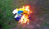 Жителя Сумщины арестовали на 6 месяцев за сожжение государственного флага
