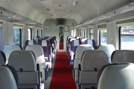 Все места в поезде будут