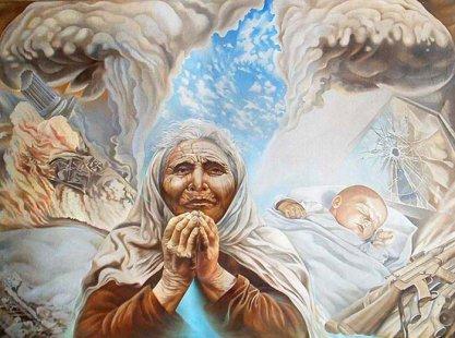 І чекає мати сина - ненька сива під хрестом...  81244dd3c9924