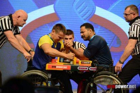 Армрестлинг на чемпионат мира инвалида