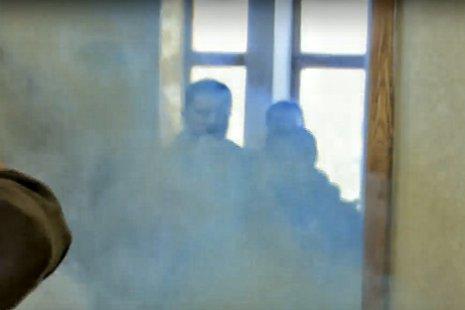 В сооружение горсовета Сум бросили дымовую шашку