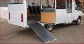 Такие маршрутки, на которые инвалид-колясочник не может заехать, ездят по городу сейчас.