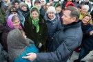 Встреча с жителями Беевки