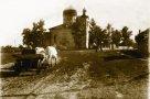 Пантелеимоновская церковь и начало Роменской улицы. Фото 1949 г.